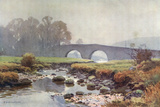 Dartmoor - Two Bridges Photographic Print by Ernest W Haslehust
