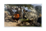 Sancho at the Feast Giclee Print by Edmond Morin