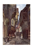 York Shambles Giclee Print by Ernest W Haslehust
