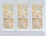 Dogwood Window Privacy Film Stickers pour fenêtres