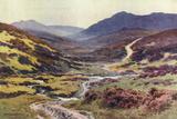 Dartmoor - Devils Bridge Photographic Print by Ernest W Haslehust