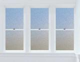 Cubix Window Privacy Film Stickers pour fenêtres