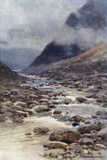 Dartmoor - Tavy Cleave Photographic Print by Ernest W Haslehust