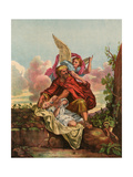 Abraham and Isaac Giclee Print by Eugene Ronjat