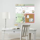 Vintage Bazaar Organization Set Wall Decal