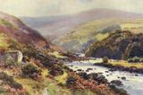 Dartmoor - Dartmeet Photographic Print by Ernest W Haslehust