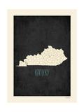 Kentucky Posters av Rebecca Peragine