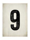 """Numero """"9"""" consumato Poster di Rebecca Peragine"""