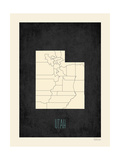 Utah - sfondo nero Stampe di Rebecca Peragine