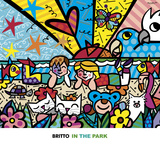 In the Park Poster van Romero Britto
