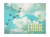 Se Libre Giclée-Premiumdruck von  Kindred Sol Collective