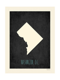 Washington D.C. Posters av Rebecca Peragine