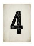 """Numero """"4"""" consumato Poster di Rebecca Peragine"""