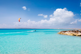Illetas Formentera Illetes Beach Turquoise Paradise in Tropical Mediterranean Balearic Islands Photographic Print by  holbox