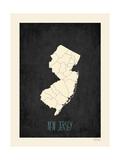 New Jersey Posters av Rebecca Peragine