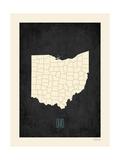 Ohio - sfondo nero Stampe di Rebecca Peragine