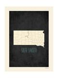 South Dakota Poster av Rebecca Peragine