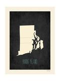 Rhode Island - sfondo nero Poster di Rebecca Peragine