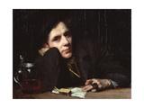 Portrait of Arthur Wasse Giclee Print by Benes Knupfer