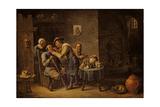 The Dentist, 1652 Giclée-Druck von David Teniers the Younger