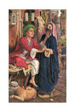 The Lantern Maker's Courtship, C.1854-60 Giclee Print by William Holman Hunt