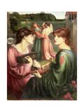 The Bower Meadow, 1850-72 Giclee-trykk av Dante Gabriel Rossetti