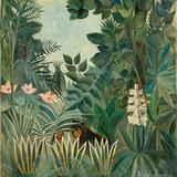 The Equatorial Jungle, 1909 Reproduction procédé giclée par Henri Rousseau