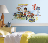 Paw Patrol Wall Graphix Peel and Stick Giant Wall Decals Autocollant mural
