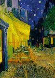 The Café Terrace On The Place Du Forum, Arles Art by Vincent van Gogh