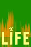 Life 3 Plastskilt
