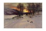 When the West with Evening Glows, 1901 Giclée-Druck von Joseph Farquharson