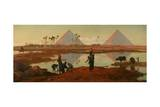 The Water of the Nile, 1893 Giclée-tryk af Frederick Goodall