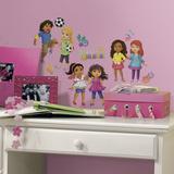 Dora and Friends Peel and Stick Wall Decals Vinilo decorativo