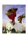 Manfred on the Jungfrau, 1840-61 Giclee Print by Ford Madox Brown