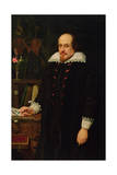 Portrait of William Shakespeare (1564-1616) 1849 Giclee Print by Ford Madox Brown