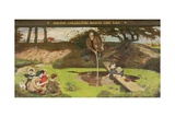 Dalton Collecting Marsh Fire Gas, 1879-93 Giclee Print by Ford Madox Brown