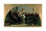 Ophelia, 1852 Giclee Print by Arthur Hughes