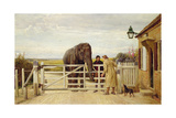 The Disputed Toll, 1875 Giclee Print by Heywood Hardy