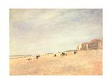 Rhyl Sands, C.1854 Giclee Print by David Cox