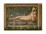 The Sleeping Beauty, 1871 Giclée-tryk af Edward Burne-Jones