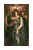 Astarte Syriaca, 1877 Giclee-trykk av Dante Gabriel Rossetti