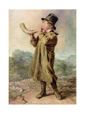 Cow Boy, 1829 Giclee Print by William Henry Hunt