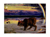 The Scapegoat, 1854-55 Giclee Print by William Holman Hunt