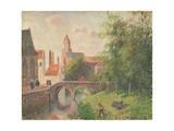 Old Bridge, Bruges Reproduction procédé giclée par Camille Pissarro