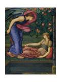 Cupid and Psyche, 1865-87 Reproduction procédé giclée par Edward Burne-Jones