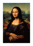 Mona Lisa Posters af Leonardo da Vinci,