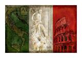 Brava Italia Reproduction procédé giclée par Luke Wilson