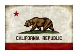 The California Republic Reproduction procédé giclée par Luke Wilson