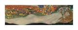 Vattenormar II, ca 1907 Gicléetryck av Gustav Klimt