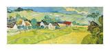 Vue Ensoleille pres d'Auvers Impressão giclée por Vincent van Gogh